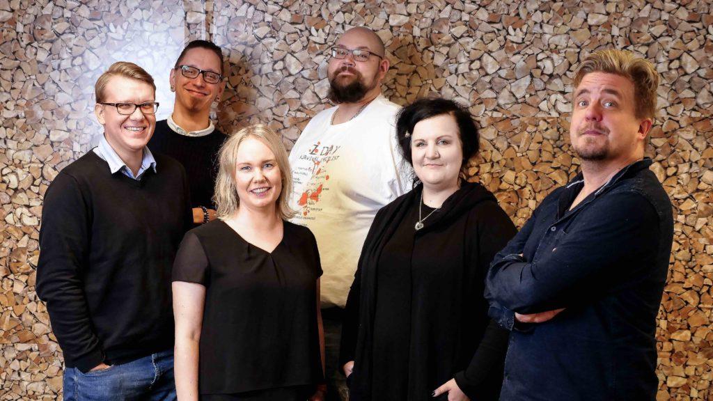 Ryhmäkuva Verken työntekijät Lokakuu 2017