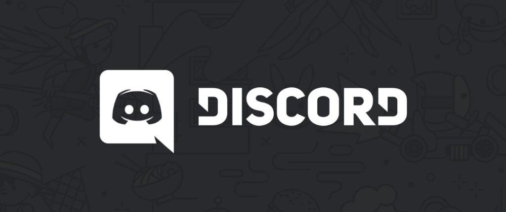Discordin logo tummalla taustalla