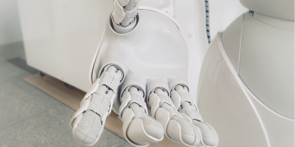 Robotin käsi.