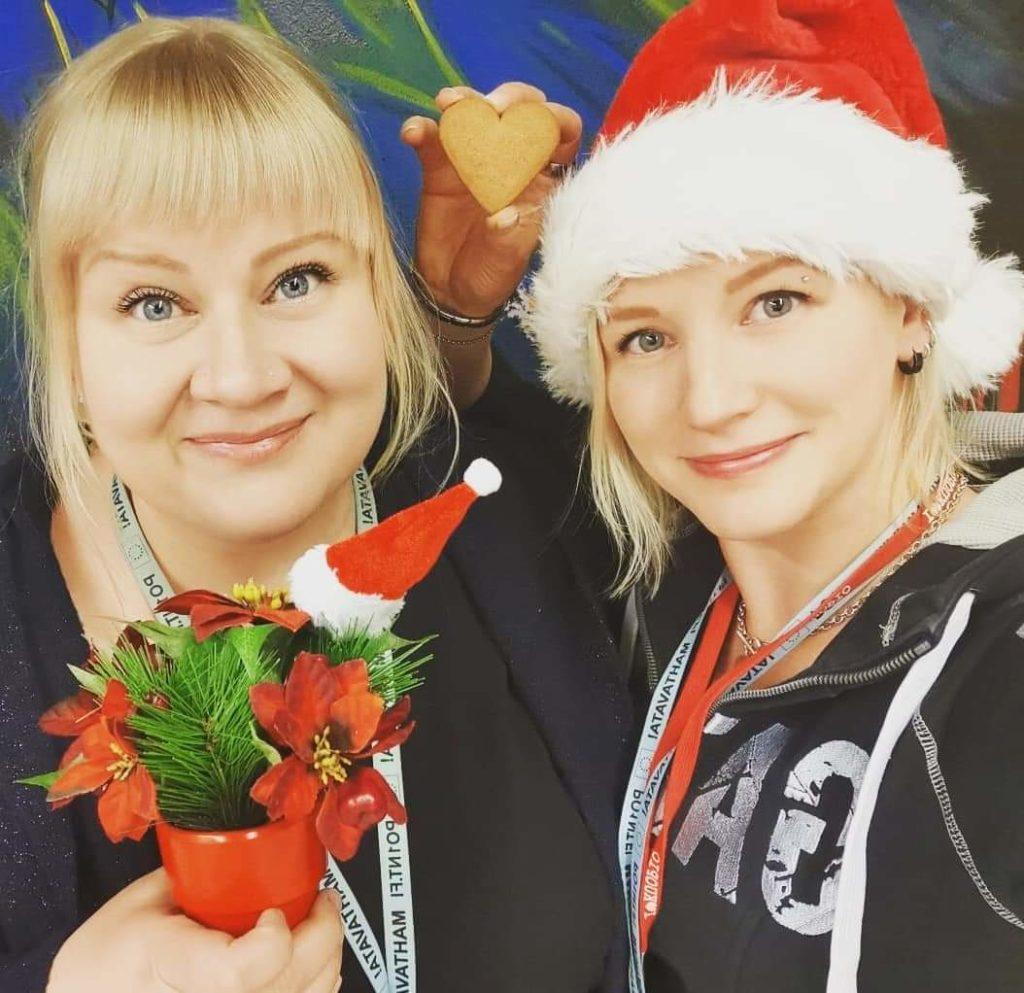 Milla Porkka ja Miina Morko