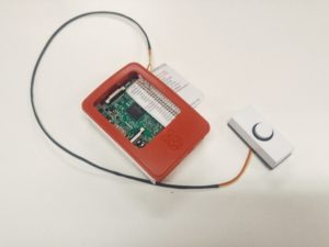doorbell and raspberry pi