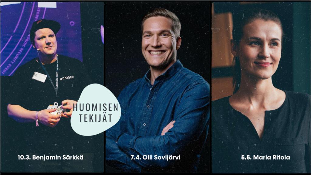 Benjamin Särkän, Olli Sovijärven ja Maria Ritolan kuvat